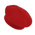 JTC Kids Girl's Wool French Beret Hat Beanie Cap Red