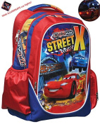 Cars - Disney School Backpack with light 341-52031