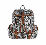 Ladies Girls Fashion Canvas Backpack Rucksack School College Uni Travel Casual Bag Daypack