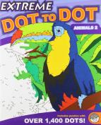 Mindware - Extreme Dot To Dot - Animals 2 - 52136 - Green Board