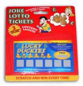 Fake Joke Lottery Scratch Cards
