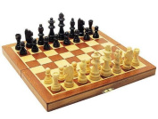 Standard Fold-up wooden Chess Set by db