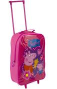 Character Peppa Pig Pink Wheeled Bag