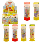 6 x WINNIE THE POOH BUBBLES Kids Party Bag Fillers Childrens summer toy outdoor