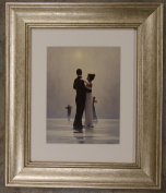 Dance Me To The End Of Love by Jack Vettriano Framed Art Print Picture (33cm x 28cm) Silver Frame