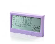 Lexon BURO Digital Calendar Purple
