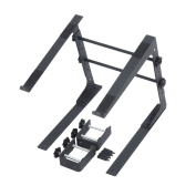 SOUNDLAB Compact Multi Adjustable Laptop Stand with additional fixing clamps & Carry Case