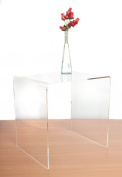 Premium Clear Acrylic Side/End Table