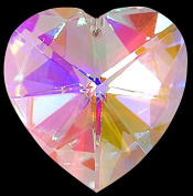 Pretty Heart Shaped Window Hanging Crystal Rainbow Suncatcher - Great Stocking Filler / New Baby / Moving House Gift