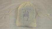 Lavender Filled Cotton Bag x6 Full Of French Lavender