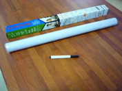 2M Long x 45cm Wide Roll Large Vinyl Magic Whiteboard Dry Wipe Any Surface