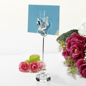Well-Goal 5pcs Butterfly Wedding Party Reception Number Menu Name Table Clip Place Card Holder