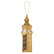 National Gallery Embroidered Big Ben Christmas Decoration