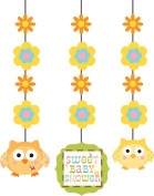 Pack of 3 Happi Tree Hanging Decorations