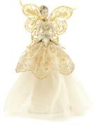 Festive 23 cm Angel Tree Topper, Gold