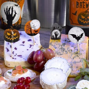 Graveyard Gathering Halloween Paper Food Picks, Pack of 20