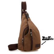 ZeleToile® BS-03 New Fashion Triangle Bag Chest Bag Canvas Backpack Cross Body Bags Satchel Men's Shoulder Bag Leisure, Size