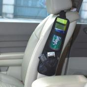 Vehicle Car Multiple Pocket Seat Side Storage Collector Hanging Bag