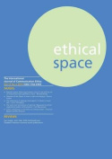 Ethical Space Vol.12 Issue 2