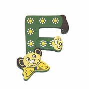 """Legler """"F"""" Bear's Head Letter Children's Furniture"""