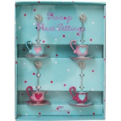 Tea Cup Place Card Settings Set of 4