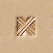Tandy Leather Craftool Geometric Stamp 6538