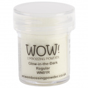 Wow Embossing Powder WOW! Embossing Powder, 15ml, Glow-In-The-Dark