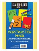 Sargent Art 23-4001 50-Count Construction Paper