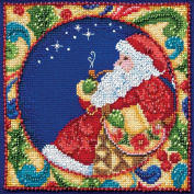 Mill Hill Jim Shore Santa Counted Cross Stitch Kit, 13cm by 13cm