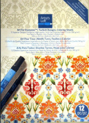 Turkish Designs, Colouring Sheets, Art for Everyone, Artists Loft