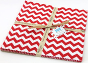 Riley Blake BASICS VARIETY Red 25cm Stackers Layer Cake 24 Squares Quilt Fabric 10-80-24