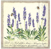 Ideal Home Range 20 Count Paper Luncheon Napkins, Rustic Lavender