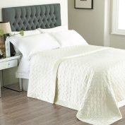 Allure Ivory Bedspread