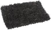 FHE Group Tissue Rug Bath Mat, 110cm by 70cm , Black