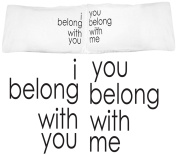 Oh, Susannah I Belong with You, You Belong With Me Couple Pillowcases Wedding Gifts or Anniversary Gifts For Couple, For Her Gifts or Gift for Him.