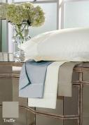 DreamFit 4-Degree 400 Thread Count Preferred 100-Percent Egyptian Cotton Sheet Set, California King, Truffle