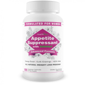 Appetite Suppression with Energy for Women - 120 vegetarian capsules