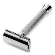 Perfecto Double Edge Long Handled Safety Razor - Designed to deliver the Best Shave of your life!!! This is the best shaving razor!!!