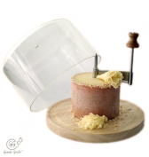 Grande Girolle Cheese & Chocolate Curler with Dome Lid Included