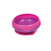The First Years Inside Scoop Suction Bowl -1 Pack, Pink/Purple
