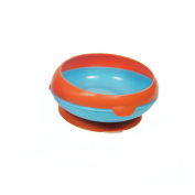 The First Years Inside Scoop Suction Bowl -1 Pack, Blue/Orange