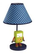 NoJo Baby Bots Lamp and Shade