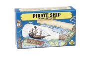 Pirate Ship in a Bottle Kit - Includes All Parts to Create a Mini Ship in a Bottle - VERY Challenging, Are You up for It.