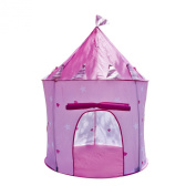Matney Castle Princes Girls Children Kids Outdoor Play Tent Indoor Playhouse-easy to Assemble and Dissemble Taking Them From Indoor to Outdoor Hassle Free