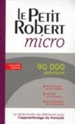 Le Robert dictionnaires monolingues