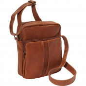 Le Donne Leather Distressed Leather Men's Day Bag