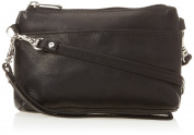 Piel Leather Shoulder Bag Wristlet