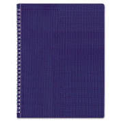 Blueline Duraflex Poly Notebook, Blue, 28cm x 22cm , 160 Pages
