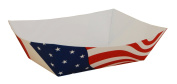 Southern Champion Tray 0536 #300 Paperboard USA Flag Food Tray, 1.4kg Capacity, Flag Print