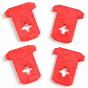 Norpro 5120g Cherry Stoner & Pitter Replacement Gaskets 4 Pk